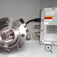 Датчик влагомера FIZEPR-SW100.24.12 (DN80, PN63), вид изнутри