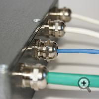 Монтаж проводников к блоку обработки сигнала