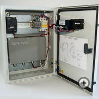 Шкаф управления для регулировки состава водомазутной эмульсии