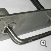Датчик FIZEPR-SW100.10.6 для измерения влажности глины, силикатной массы или песка на ленте конвейера и в бункерах