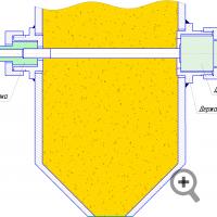 Вариант установки датчика измерителя влажности FIZEPR-SW100.10.4 (10.41)